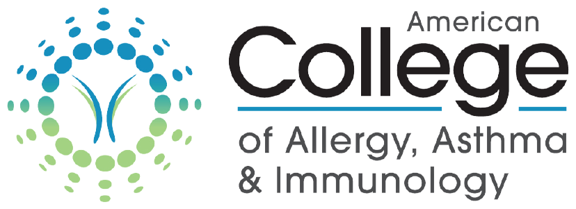 American College of Allergy, Astham & Immunology logo