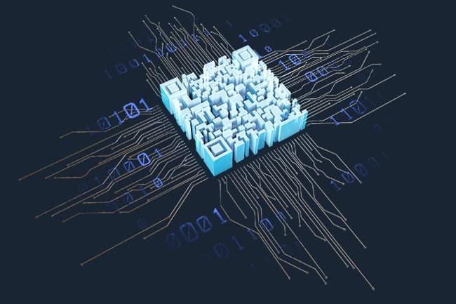 QR Code Chip