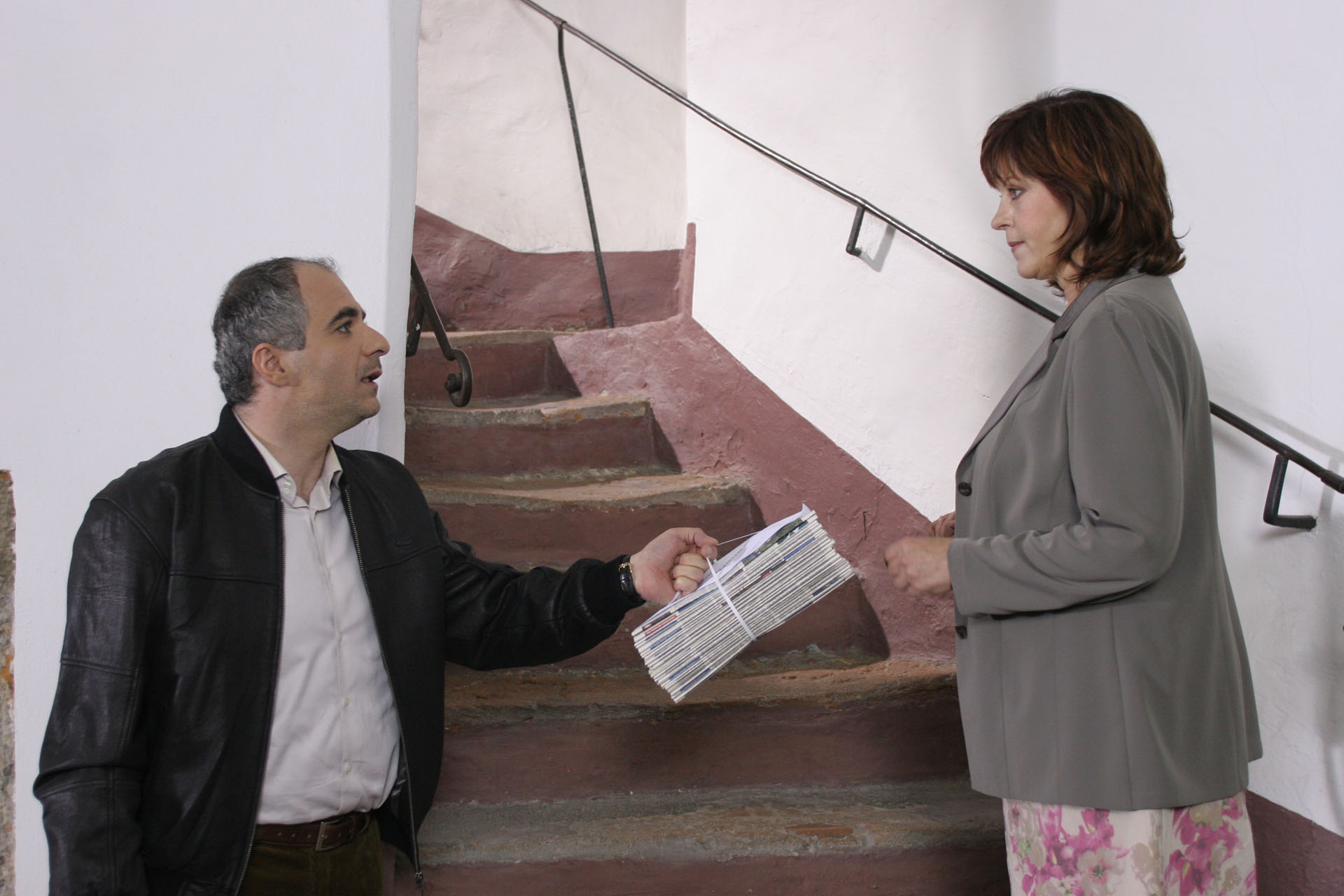 © ORF / Petro Domenigg (Star*Film) - Michael Niavarani, Elfi Eschke