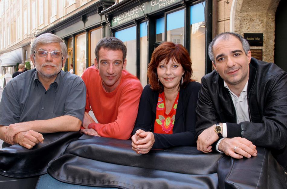 © ORF / Petro Domenigg (Star*Film) - Reinhard Schwabenitzky, Heio von Stetten, Elfi Eschke, Michael Niavarani