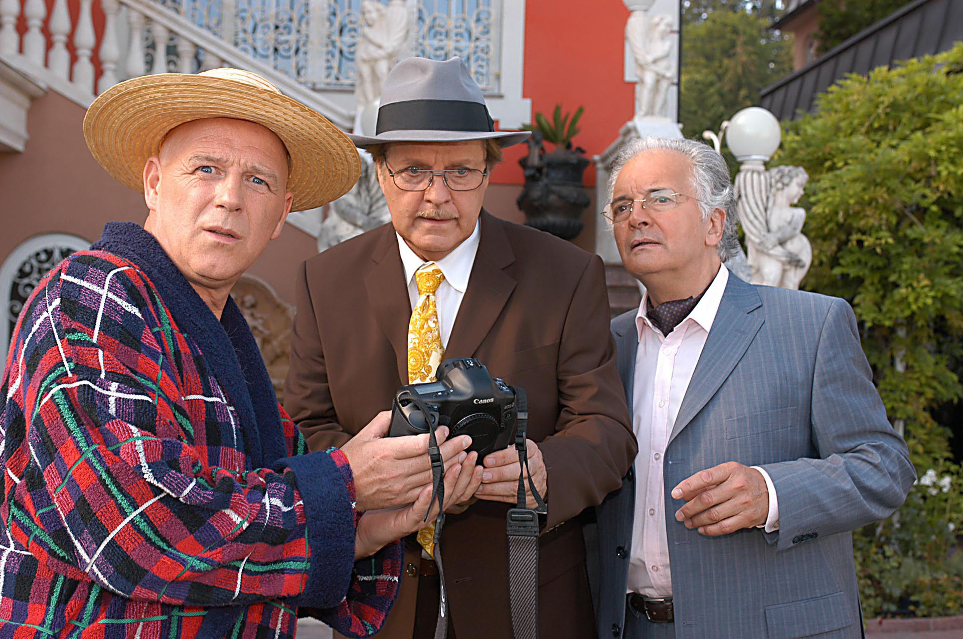 © ORF / Hubert Mican (Star*Film) - Alexander Goebel, Peter Fricke, Konrad Bischoff