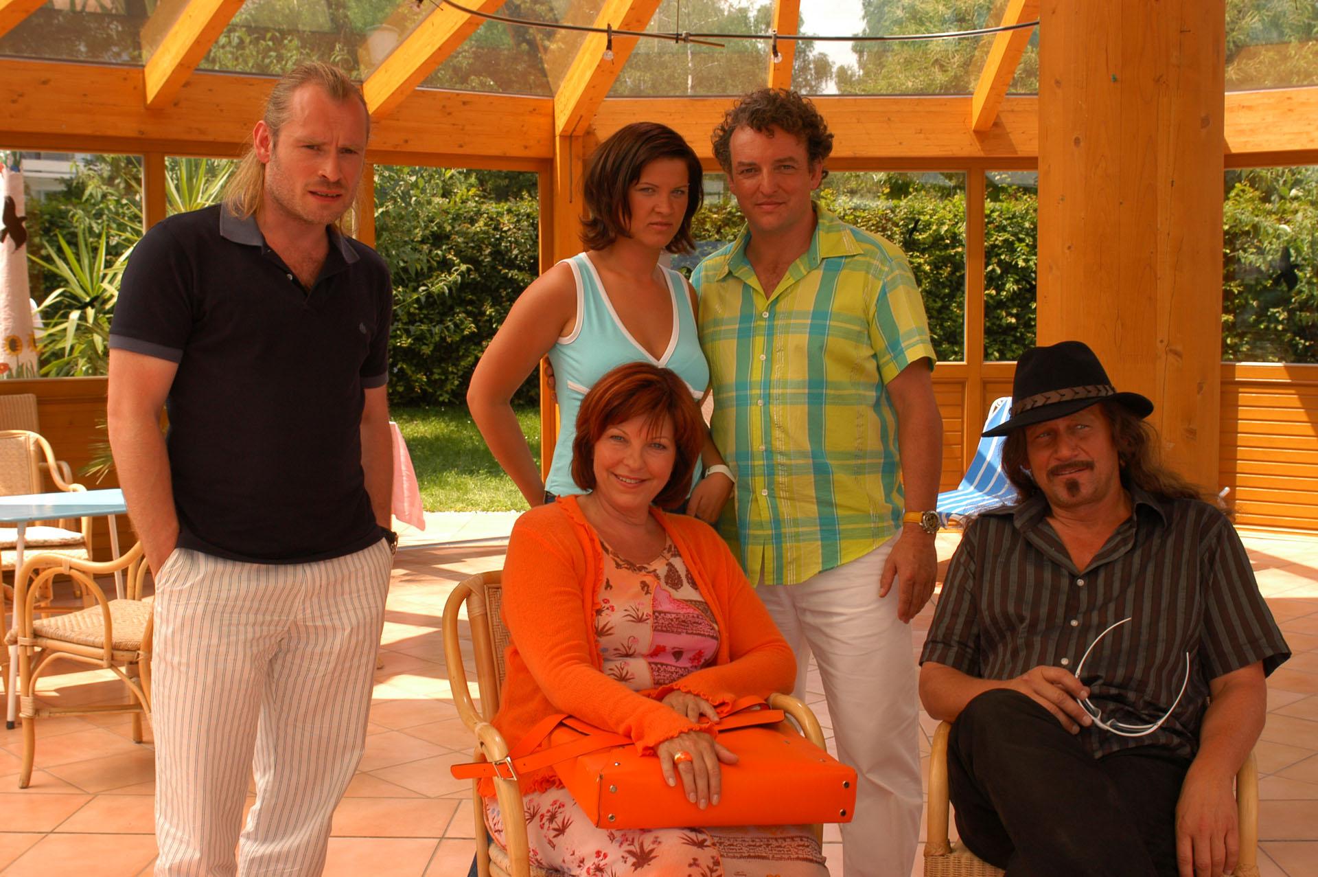 © ORF / Hubert Mican (Star*Film) - Johannes Krisch, Elfi Eschke, Magdalena Rentenberger, Marco Rima, Rainhard Fendrich