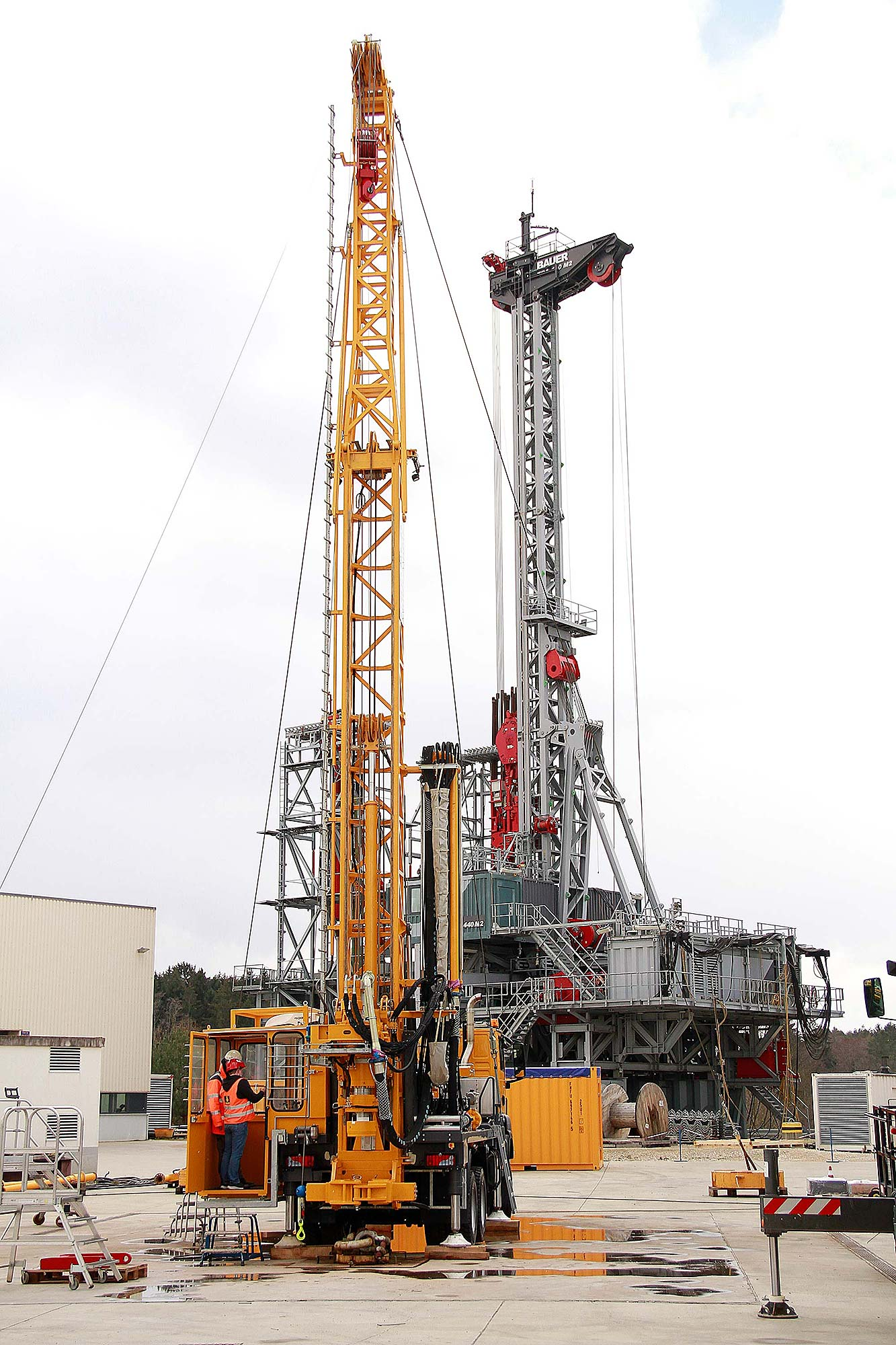 Purchase of another new PRAKLA RB 50 rotary drilling rig