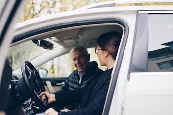 driving with elderly