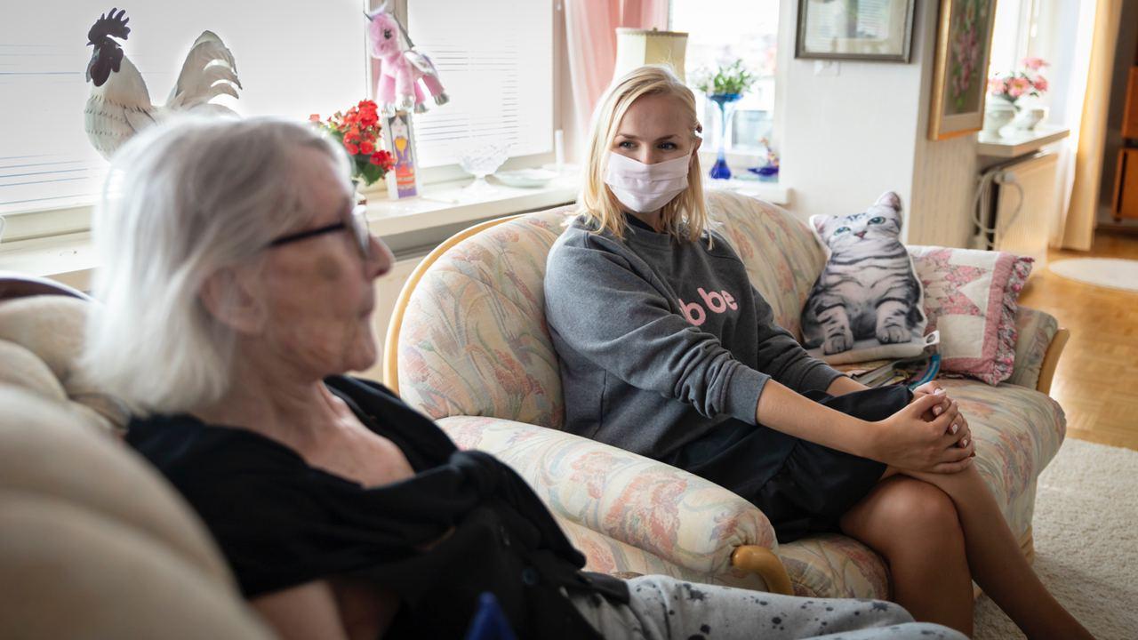 Klarar en Gubbe av en demenssjuk person?