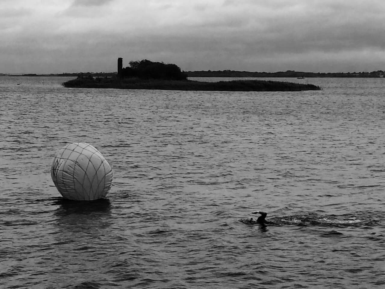 Swim a mile in the very center of Ireland