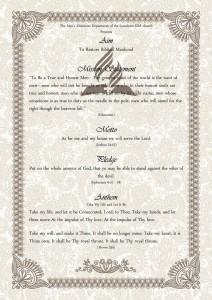 Aim-Mission Statement-Motto-Pledge-Anthem