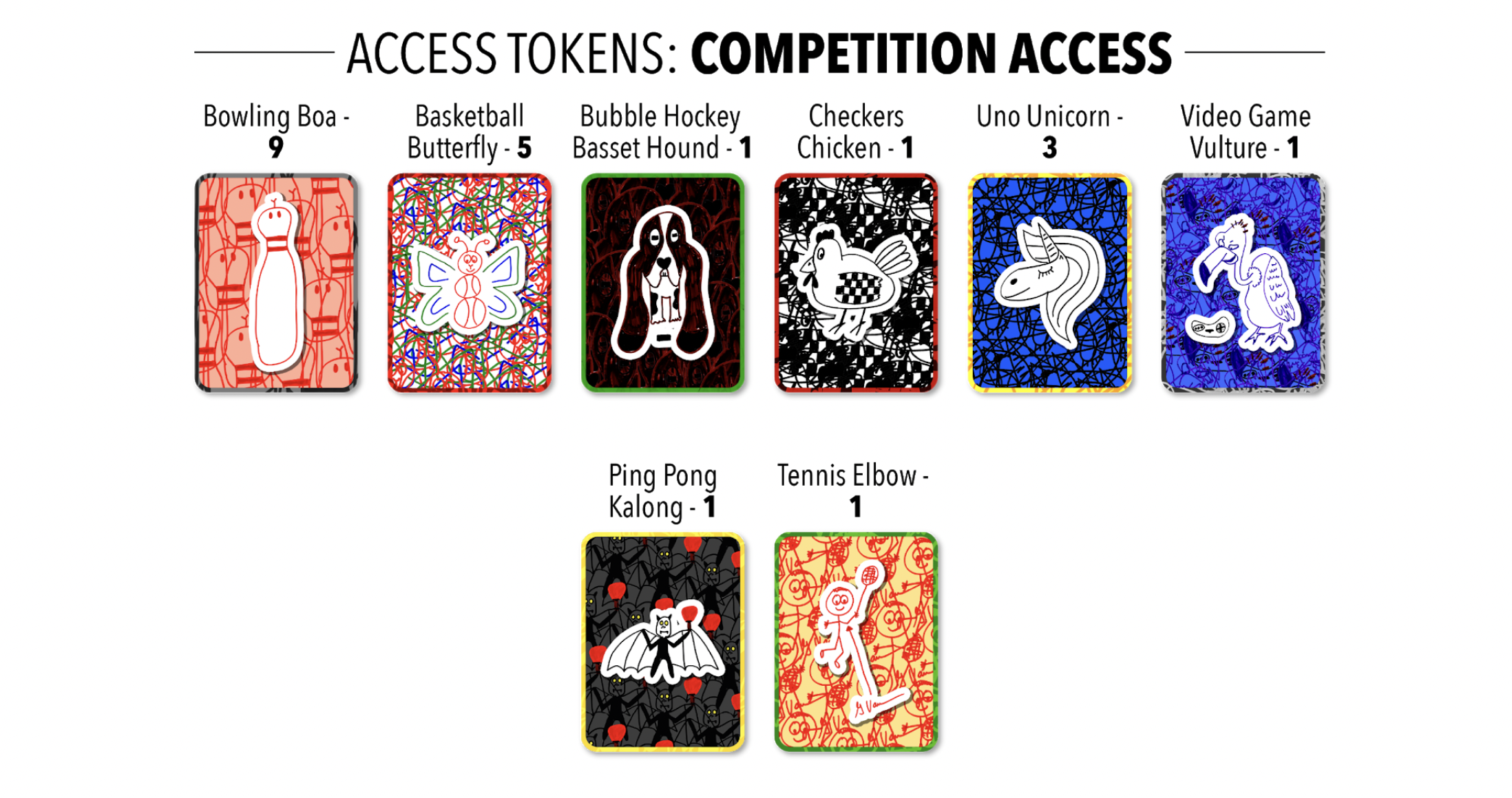 Competition Access Token