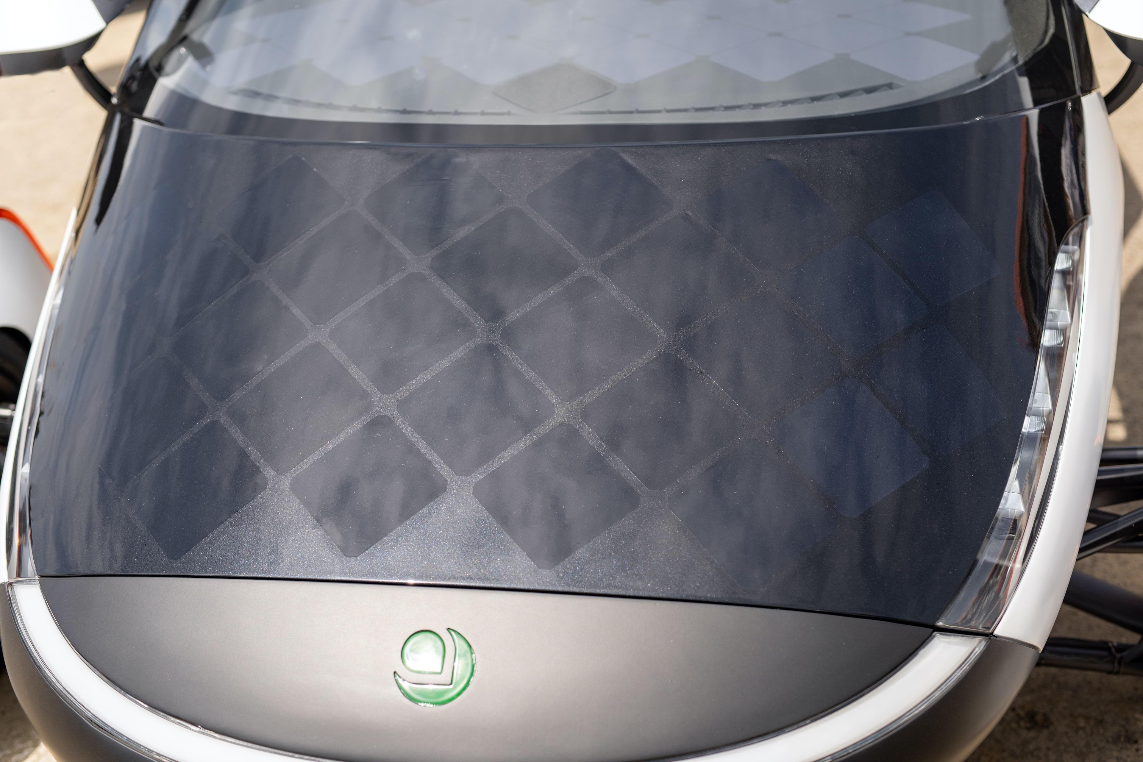 Image of Aptera's Solar Electric Vehicle