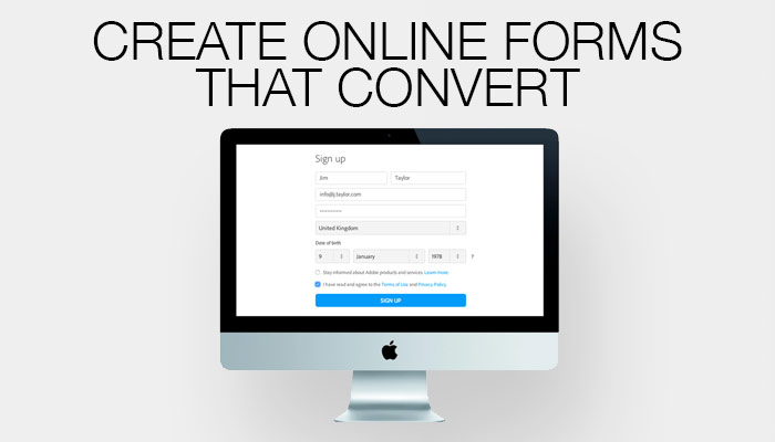 Create online forms that convert