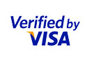 Verified by VISA stamp to bolster customers trust.