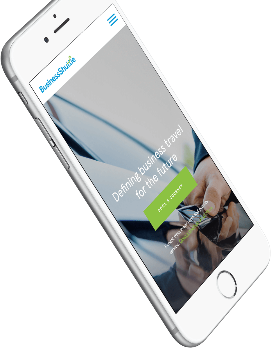 Business Shuttle Website