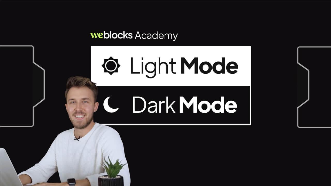 Light/Dark Mode Switcher