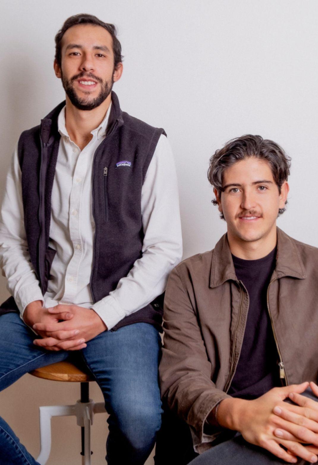Pablo Rocha e Ignacio Bermudez fundadores de Tally Legal