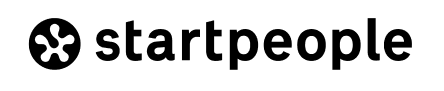 Logo Startpeople negro