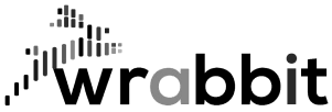 Logo Wrabbit black png