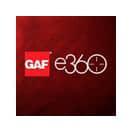 GAF e360 Logo