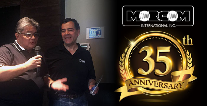 Morcom Celebrated its 35th Anniversary