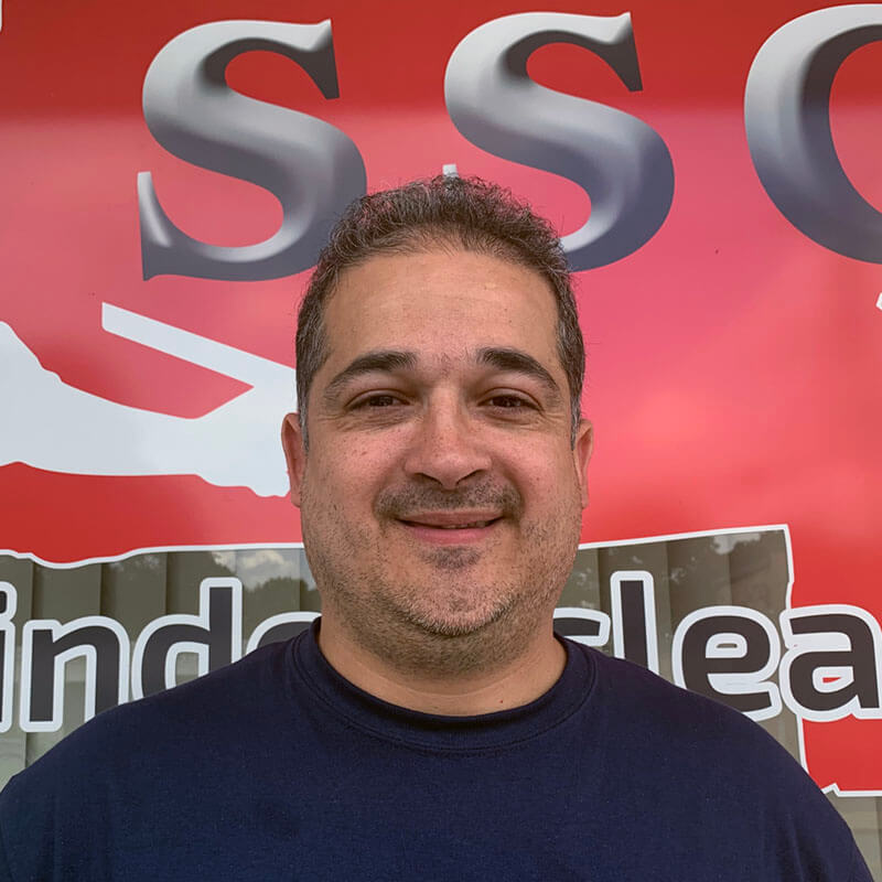 Adriano S. CEO Specialist at SSC Window Cleaning.