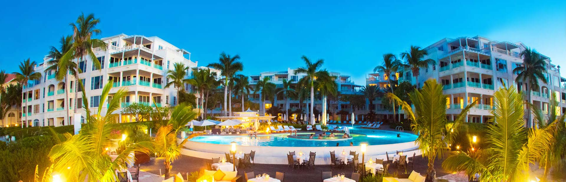 Indulge the tastiest libations at the poolside or beachside pool at The Palms Turks & Caicos.