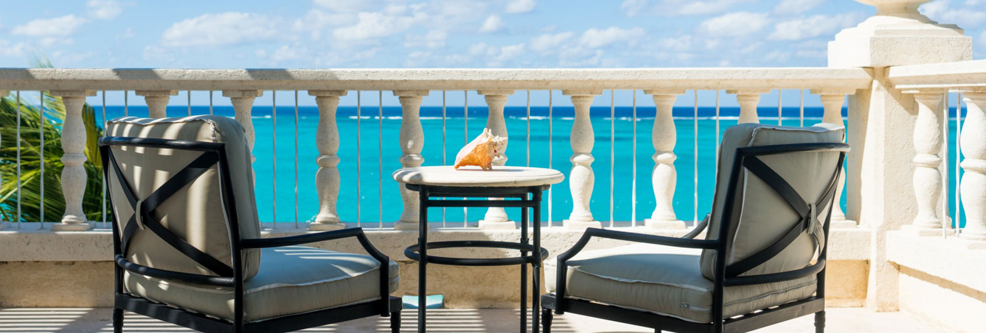 The turquoise waters of Grace Bay await you.