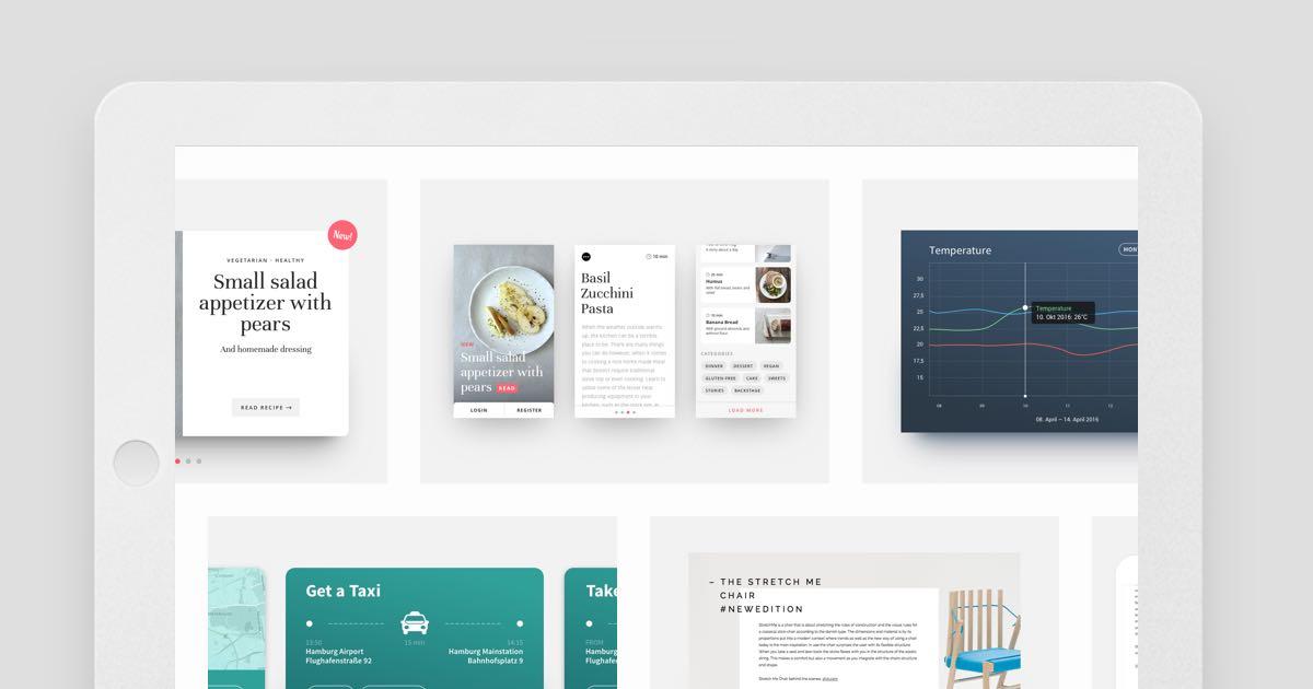 Portfolio Redesign: Die Projekt und Portfolio Seite erstellen