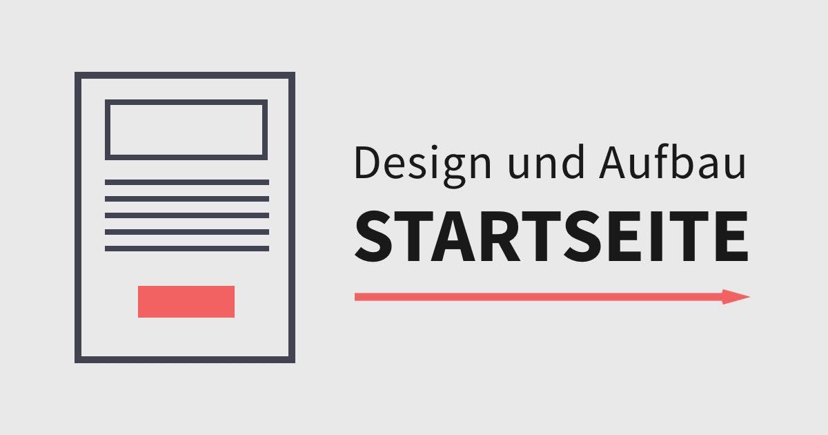 Portfolio Redesign: Die Startseite und Homepage gestalten
