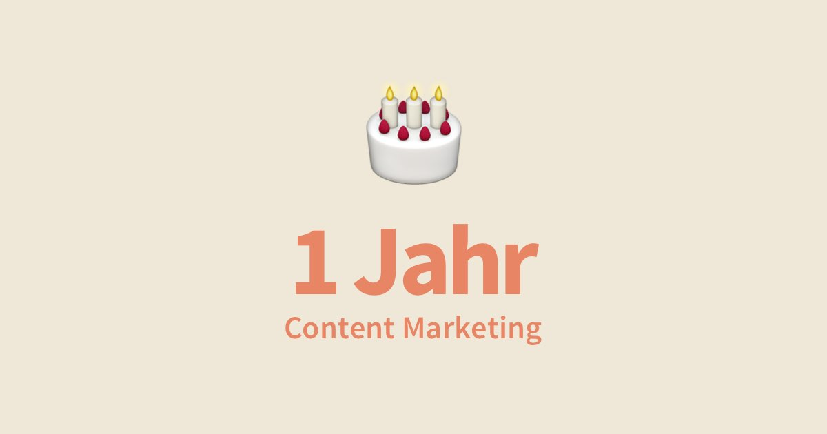 Content Marketing als Webdesigner nutzen – das hat es mir gebracht
