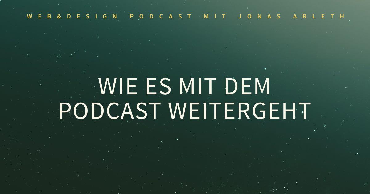 Vorschau: Web & Design Podcast – Premium Zugang