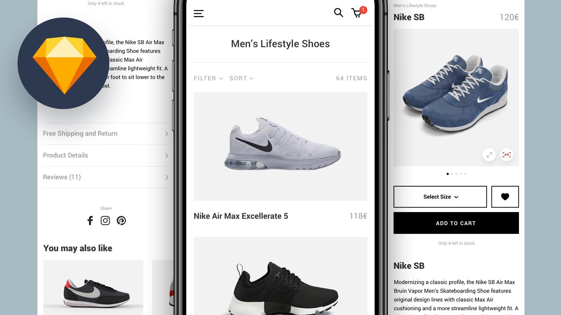 Tutorial: E-Commerce App Design mit Prototyp erstellen