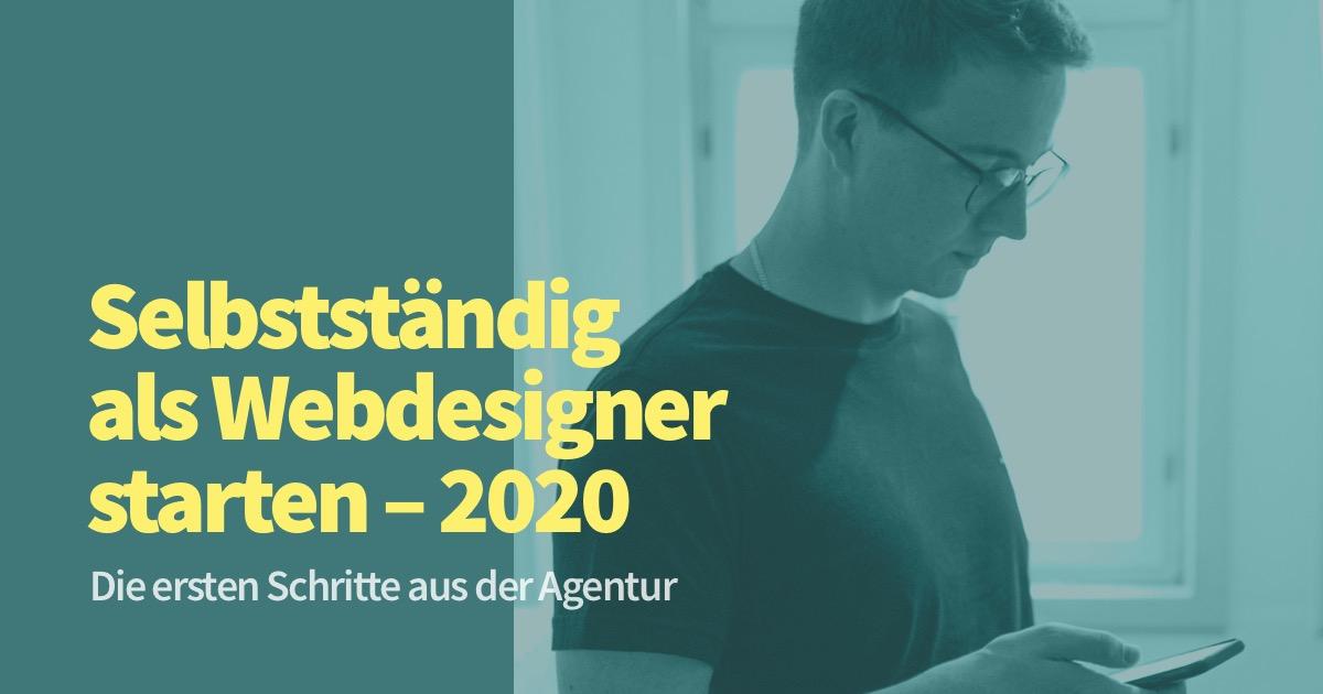 Selbstständig als Webdesigner starten – die ersten Schritte – Gespräch mit Fabian