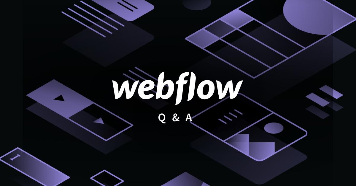 Webflow Fragen zu Tarifen, CMS, Hosting und Leistung