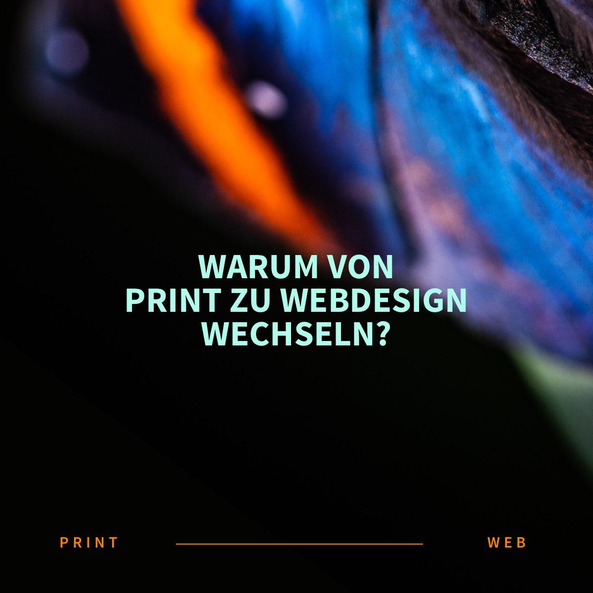 Warum von Print-Design zu Web-Design (digital) wechseln?