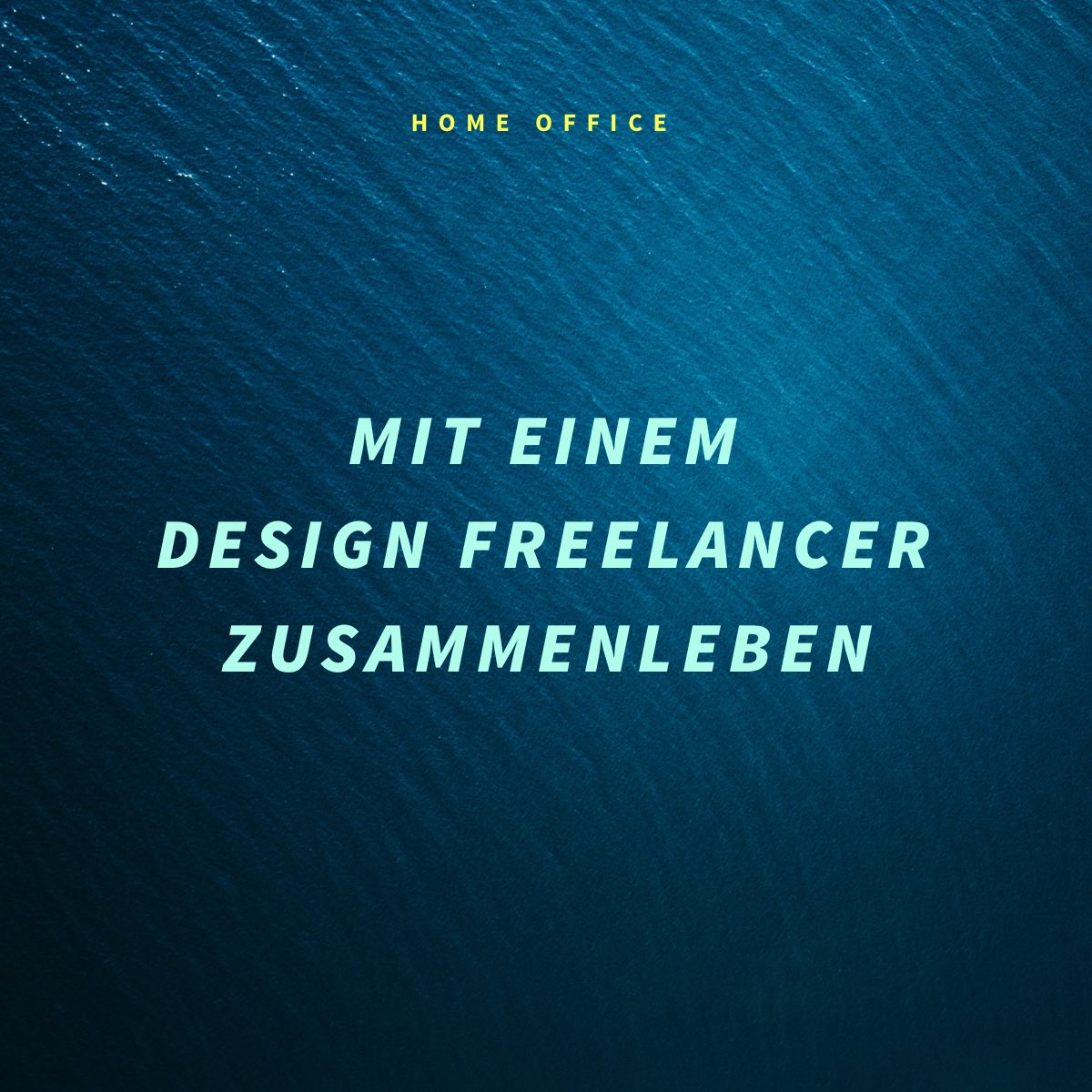 10 Vor- und Nachteile mit einem Design Freelancer zusammenzuleben (Home Office)