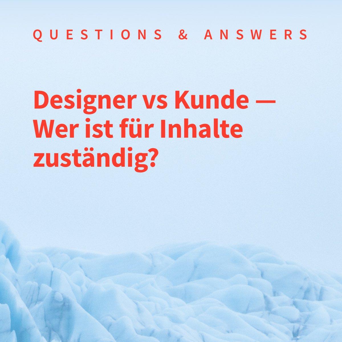 Designer vs Kunde: Wer ist für Website Texte und Inhalt zuständig?