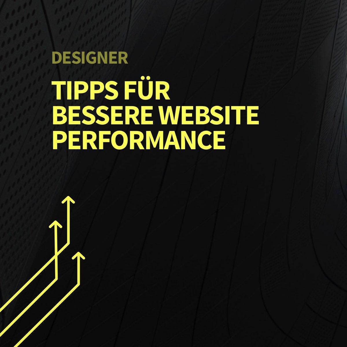 Haben UI/UX Designer Einfluss auf die Performance einer Website?