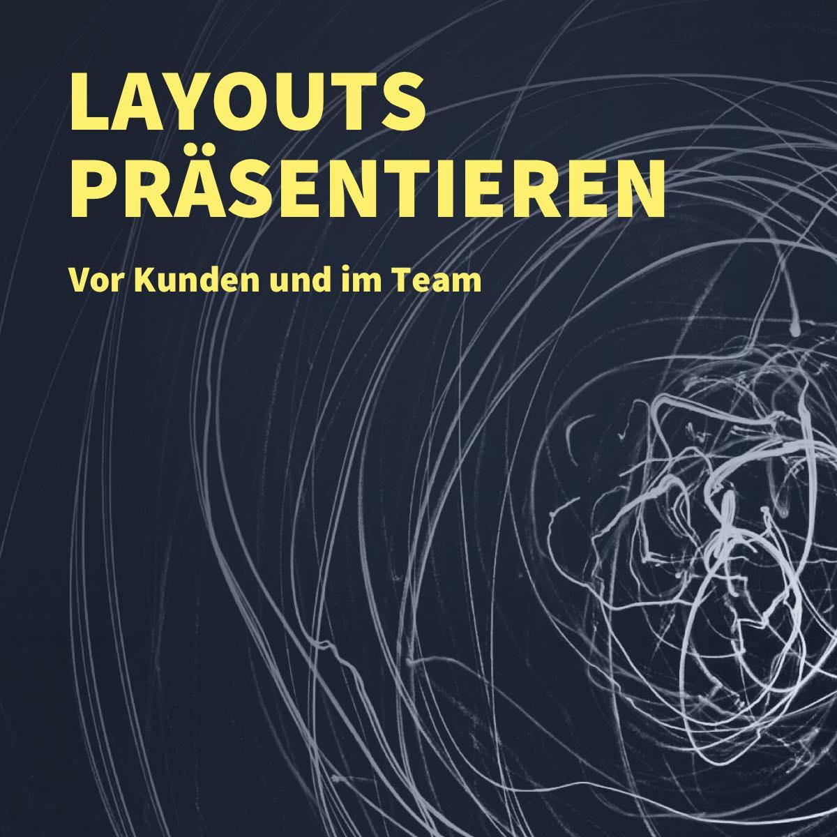 Dein Layout richtig präsentieren - Webdesign und UI/UX Projekte