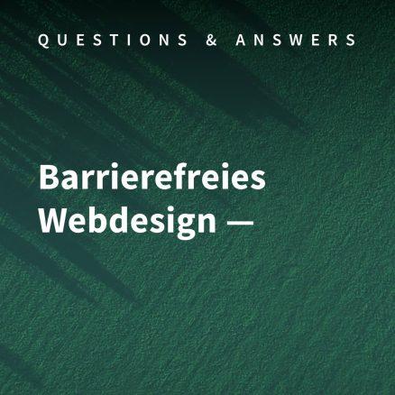 Web Design und Barrierefreiheit – Layout-Tipps