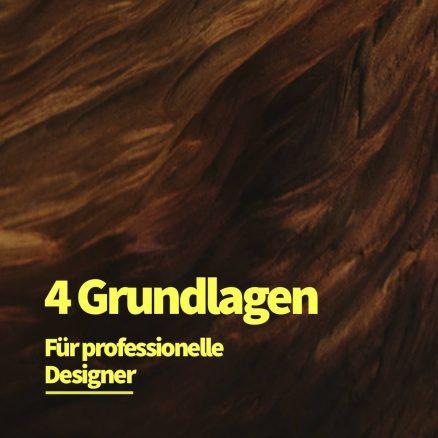 4 Grundlagen um als Designer professionell zu arbeiten
