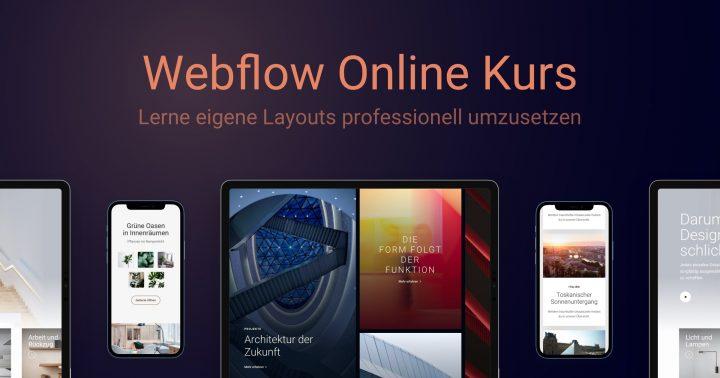 Webflow Online Kurs