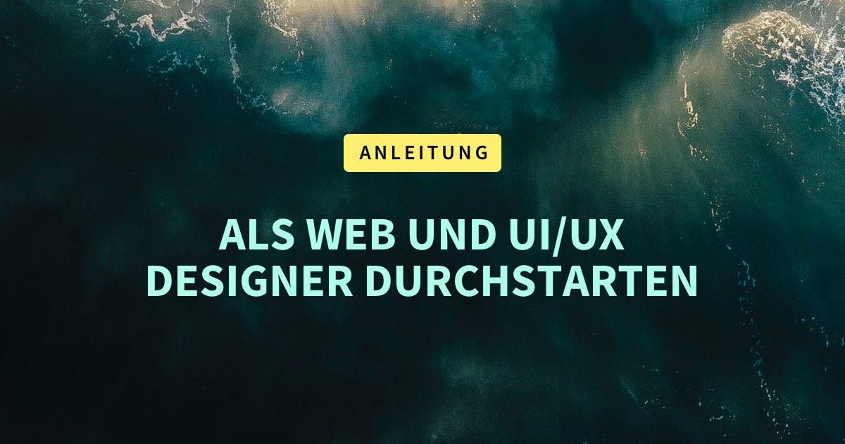 Wo kannst du mehr über Web-Design und UI/UX Design lernen?