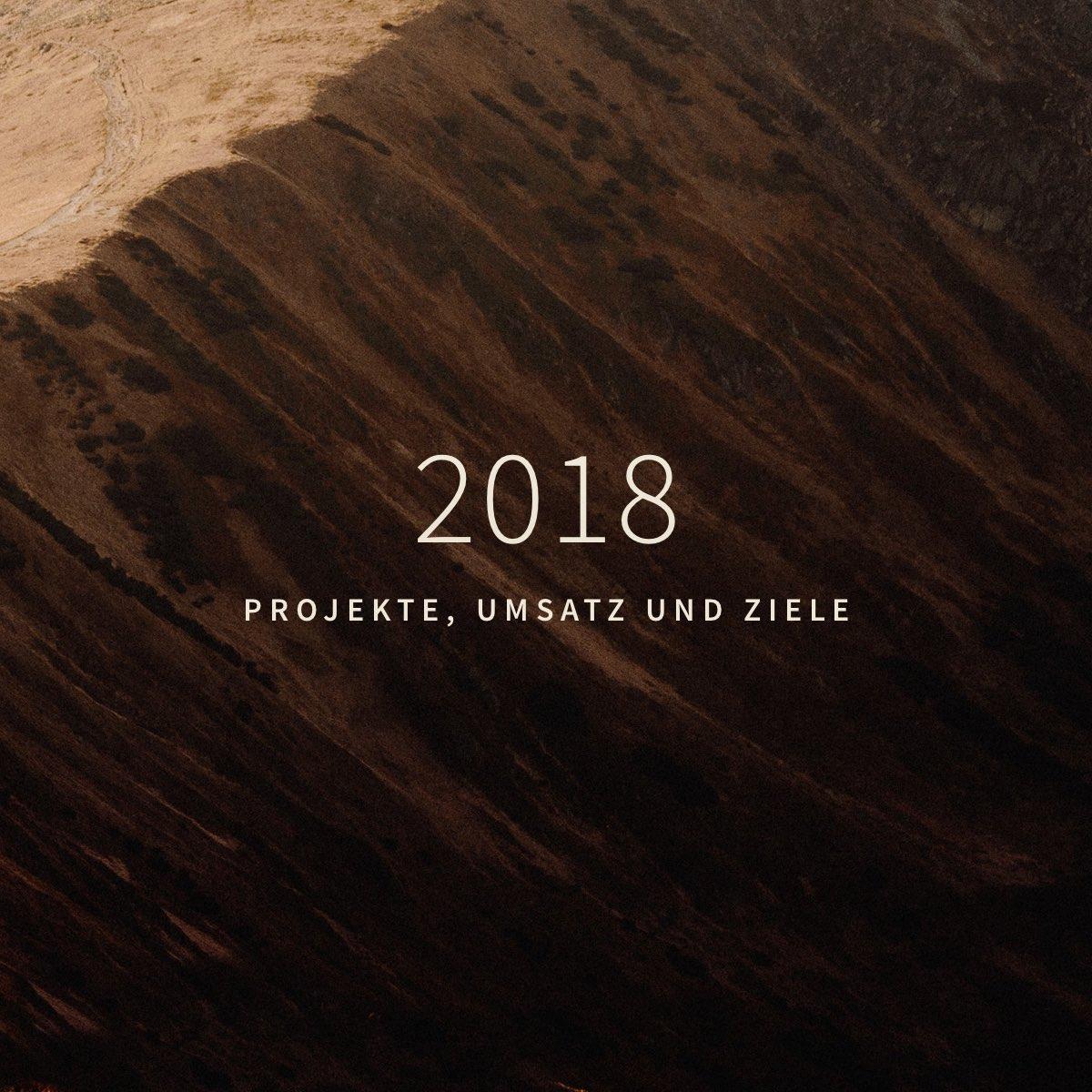 Meine Projekte, Umsatz und Ziele als Webdesigner – 2018