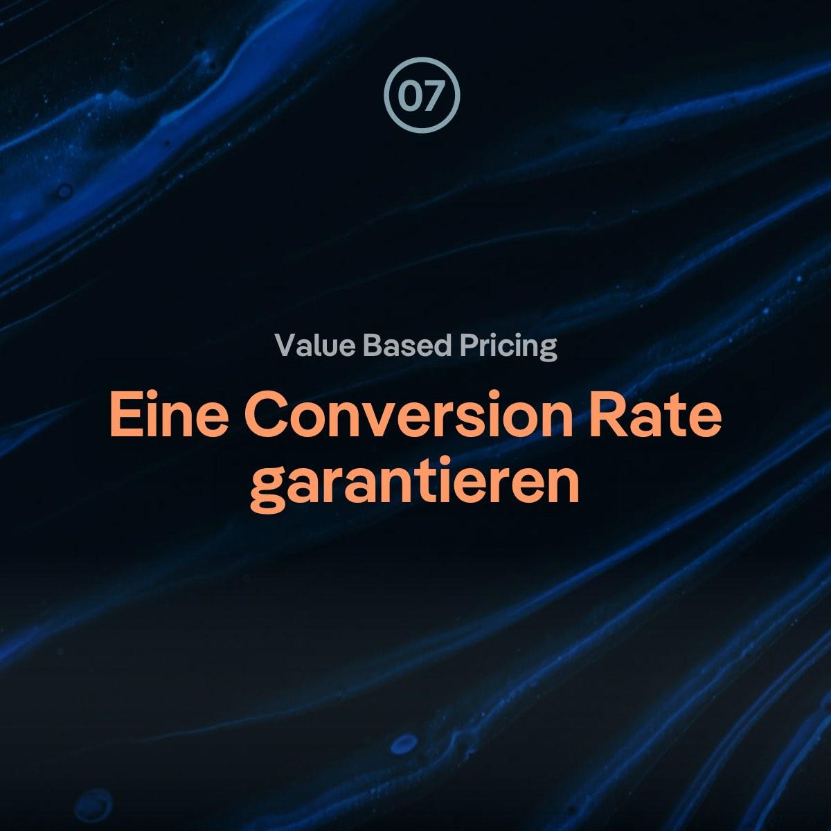 VBP Q&A: Conversion Rate garantieren / den Wert einer Website herausfinden