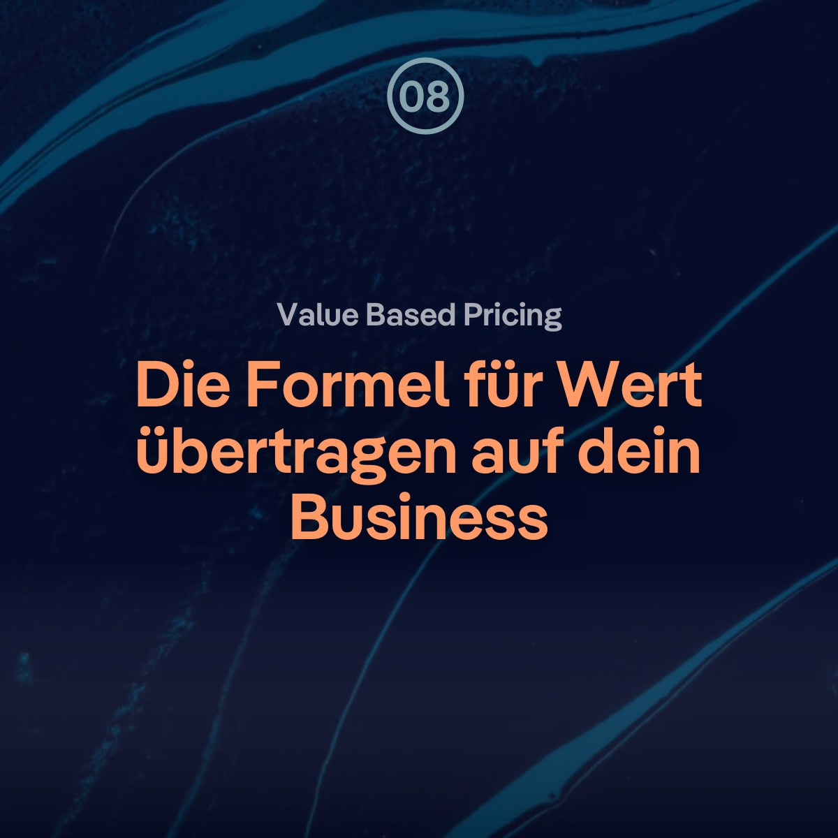 VBP: Die Formel für Wert übertragen auf dein Webdesign Business