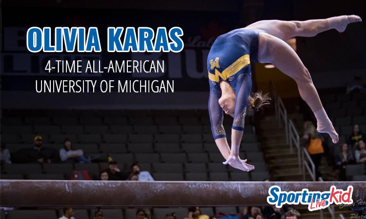 Olivia Karas 4-Time All-American University of Michigan
