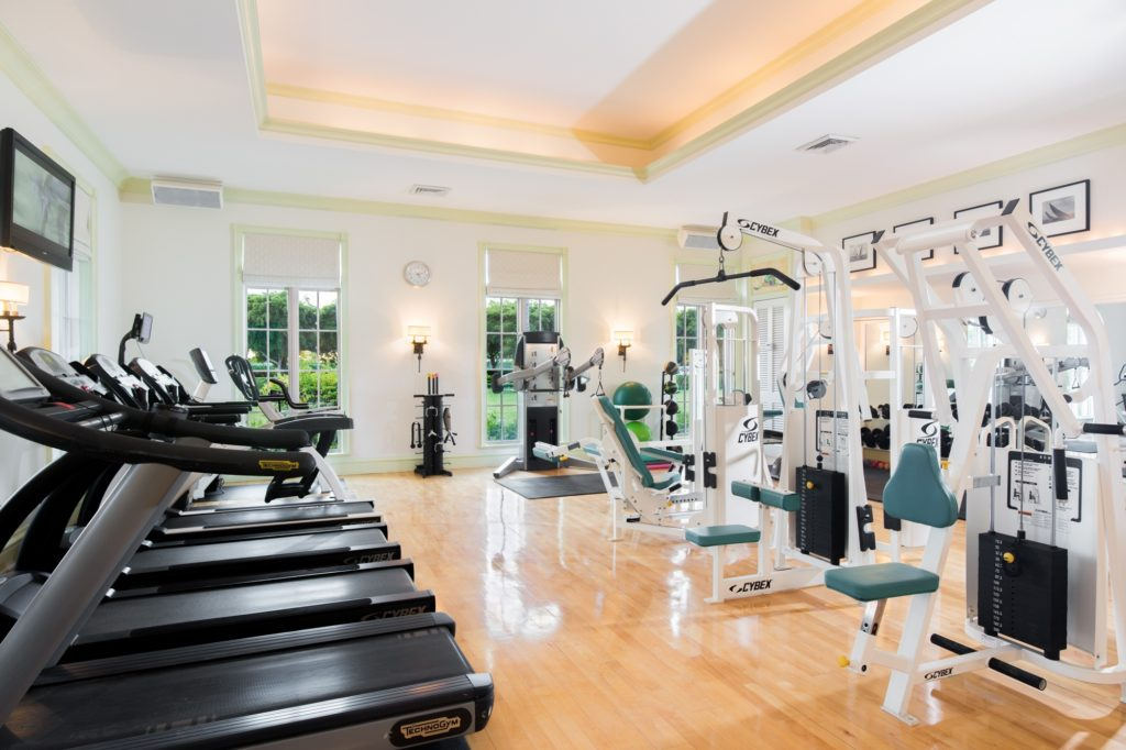 Fitness Centre at The Palms Turks and Caicos