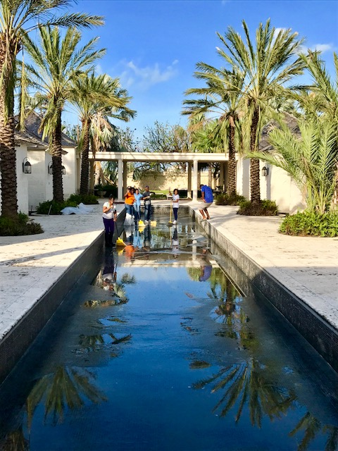 The Palms Turks and Caicos spa pool