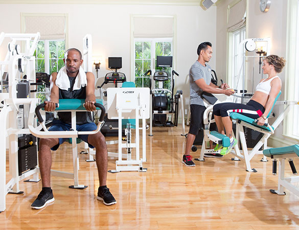 personal trainer at the palms fitness centre