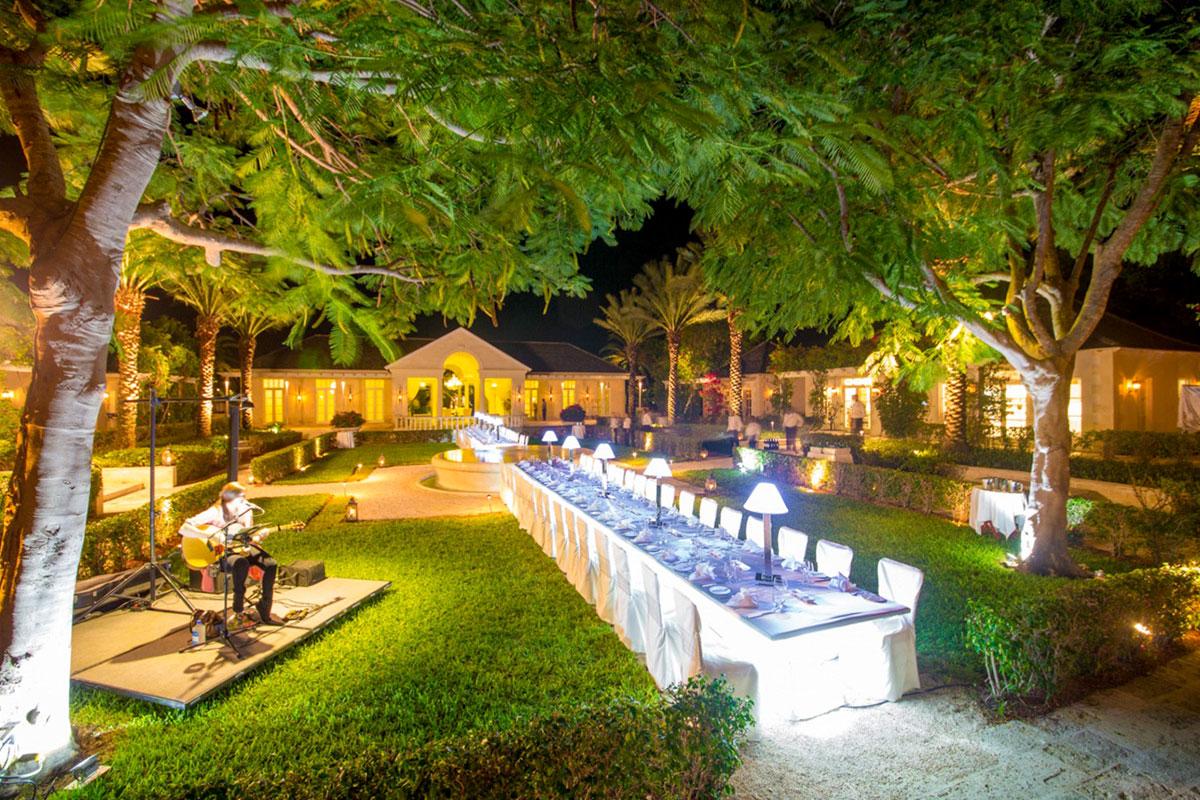 Outdoor wedding venues Turks and Caicos