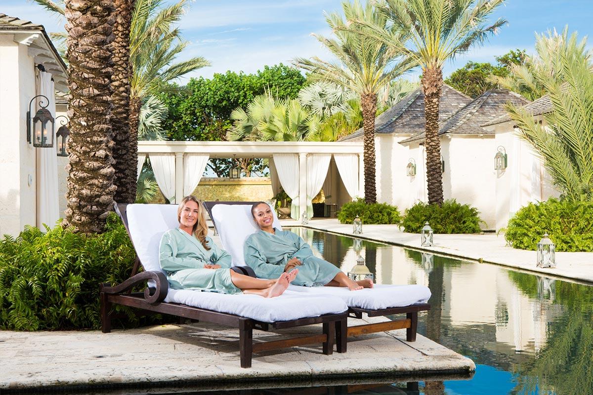 Elegant spas in Turks and Caicos